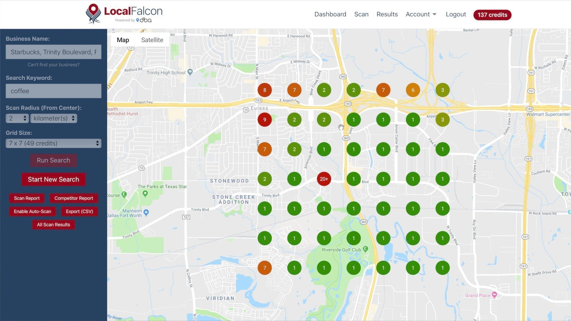 Local Falcon: How to Check Local Rankings